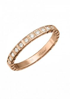 Chopard Ring Ice Cube Ring 18k rose gold and diamonds