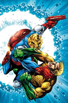 Aquaman Annual #1 Cover by Paul Pelletier