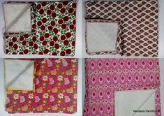 Vandana Handicrafts Supply Vintage block print bag , hand block print and silk bed cover at reliable prize. Our Block printed Fabric and jackets are awesome in looks. Summer Quilts, Winter Quilts, Indian Quilt, Silk Bedding, Printed Bags, Cotton Quilts, Bed Covers, Machine Quilting