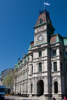 Finance Ministry, Old Quebec, Quebec City, Canada