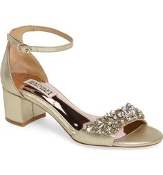 Badgley Mischka Bellisima Crystal Embellished Sandal (Women) (Nordstrom Exclusive) | Nordstrom