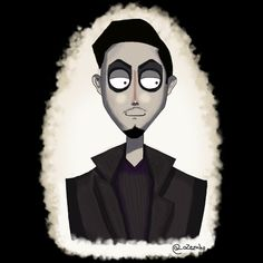 Me in Tim Burton style, see more illustration on my Instagram @_ozezinho