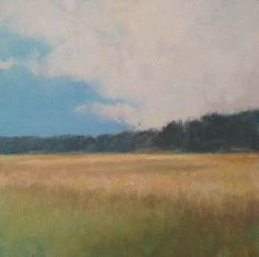 Painting a Day, Impressionist alla prima landscape study by artist Steve Allrich.