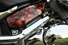 Motorrad Airbrush