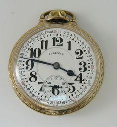 Railroad Pocket Watch More