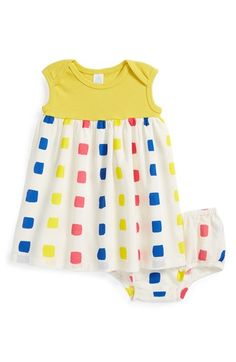 Stem Baby Organic Cotton Dress & Bloomers (Baby Girls) available at #Nordstrom