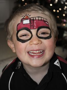Cherry Cheeks Face Art - face painting