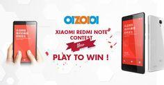 Xiaomi Redmi Note Contest – Play To Win !