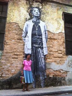 The Wrinkles of the City - La Havana | JR - Artist