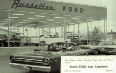 Rossetter Ford Dealership 1966