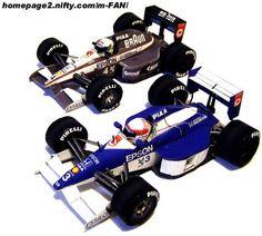 1991 Formula 1 Tyrrell Honda 020 Paper Cars - by Metmania More two new Petit-Series Formula 1 paper cars by Japanese site Metmania. Cardboard Toys, Paper Toys, Paper Crafts, Series Formula, Formula One, Japanese Site, Racing Car Design, Paper Car, F1 Racing