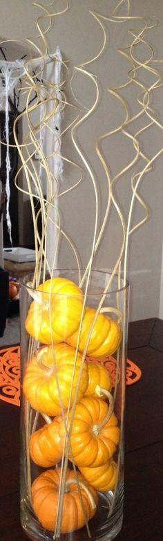 pumpkin center piece