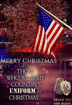 ❤Merry Christmas, United States of America, Troops Christmas Quotes, Christmas Wishes, Merry Christmas, Christmas Pictures, Christmas Greetings, Christmas Decor, Military Quotes, Military Mom, Army Mom
