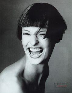 トップに君臨し続けるスーパーモデル、リンダ・エヴァンジェリスタ!                              …