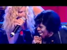 Look at him looking her up & down. lol Joss Stone & James Brown
