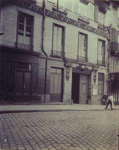 Hotel du Marquis de Ferrieres 22 Rue de Bondy 10e By Eugène Atget ,1909