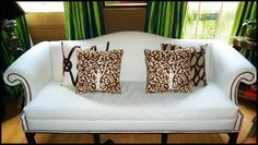 Valerie Hart's pillows made from Clarence House Fabric