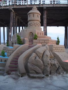 Love seeing awesome Sandcastles like this one!