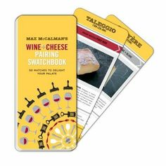 Max McCalman's Wine and Cheese Pairing Swatchbook by  Max McCalman  For M