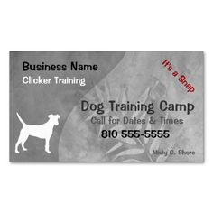The 245 best dog trainer business cards images on pinterest your pet business card maker colourmoves