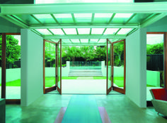 The CoFold™ System has been designed to make the most of a room's living space, removing barriers and enabling the user to have an indoor/outdoor experience by fully opening up exterior walls. Bifold Door Hardware, Folding Doors, Enabling, Open Up, Own Home, The Great Outdoors, Indoor Outdoor, Living Spaces, Walls