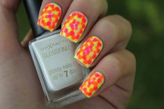 More neon dots