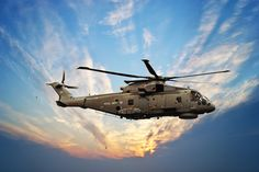Merlin Helicopter.