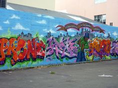 Street Art on Ghuznee Street, Wellington, New Zealand