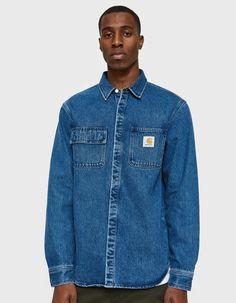e4176cec52 Carhartt WIP   Salinac Shirt in Blue