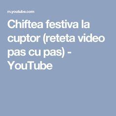 Chiftea festiva la cuptor (reteta video pas cu pas) - YouTube Youtube, Youtubers, Youtube Movies