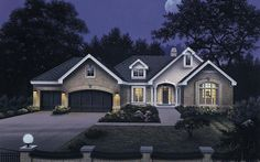 Ranch Plan: 2,452 Square Feet, 3 Bedrooms, 2.5 Bathrooms - 5633-00032