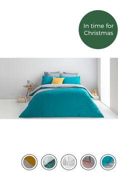 fa71bc92a80aec MADE 100% Cotton Bed Set, Double, Elephant/azure Blue Uk. Express ...