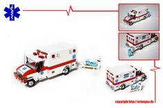 Lego Ambulance -- Lots of Detail
