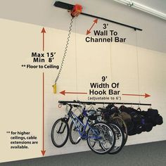 Electric Motorized Storage Lift System