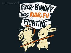 Kung Fu Bunnies for $12