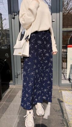 Hijab Fashion Summer, Modest Fashion Hijab, Long Skirt Fashion, Modern Hijab Fashion, Street Hijab Fashion, Hijab Fashion Inspiration, Muslim Fashion, Mode Inspiration, Look Fashion