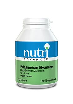 Nutri Advanced - Magnesium Glycinate 120tabs Nutri Advanced…