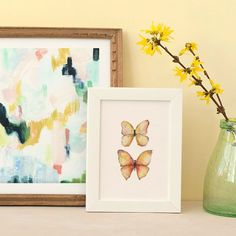 Abstract Art, Water Color Art and more to refresh your interior decor for Spring!