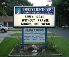 CHURCH SIGNS – THE ORIGINAL TEXT MESSAGES