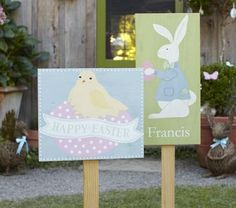 Cute Easter Signs for the yard
