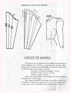 Altering a sleeve pattern to a flutter sleeve Sleeves Designs For Dresses, Sleeve Designs, Techniques Couture, Sewing Techniques, Easy Sewing Patterns, Clothing Patterns, Textile Manipulation, Costura Fashion, Sewing Collars