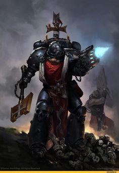 Warhammer 40000,warhammer40000, warhammer40k, warhammer 40k, ваха, сорокотысячник,фэндомы,Black Templars,Чёрные Храмовники,Space Marine,Adeptus Astartes,Imperium,Империум,Igor Sid