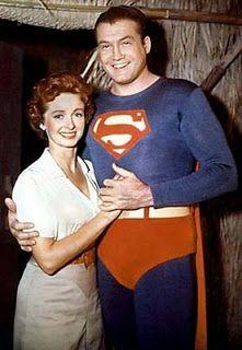 George Reeves: Adventure of Superman (here with Lois Lane #2, Noel Neill)