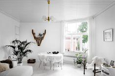 Inside designer Bette Eklund's home in Turku Wooden House, Betta, Furniture Design, Shelves, Photography, Inspiration, Designer, Interiors, Home Decor