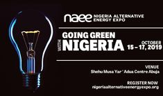 Nigeria Alternativ Energy Expo is Nigeria's largest renewable energy event where industry professionals converge and learn about the latest products and discover market trends.  Join over 100 leading energy suppliers at #NAEE2019 showcasing their latest technologies, equipment, and opportunities.