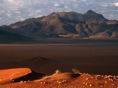 Amanhecer, Deserto Namib, Namíbia