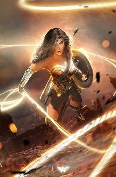 Artist unfortunately unknown - Wonder Woman