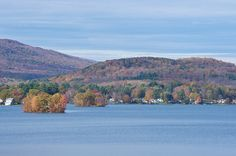 Pontoosuc Lake, Pittsfield, Massachusetts