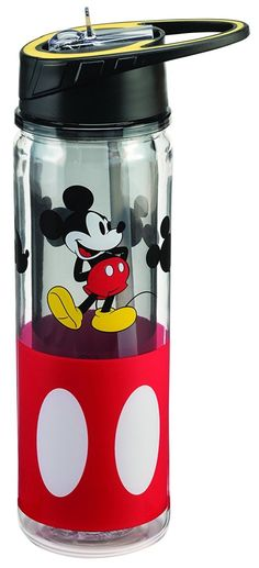 Mickey water bottles make the gym suck a little less. BUY NOW: $13
