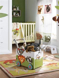 Stickers chambre bébé - 28 belles idées de décoration murale ...